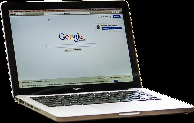 Google na monitoru