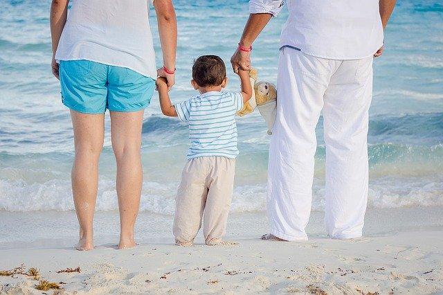 rodiče a dítě