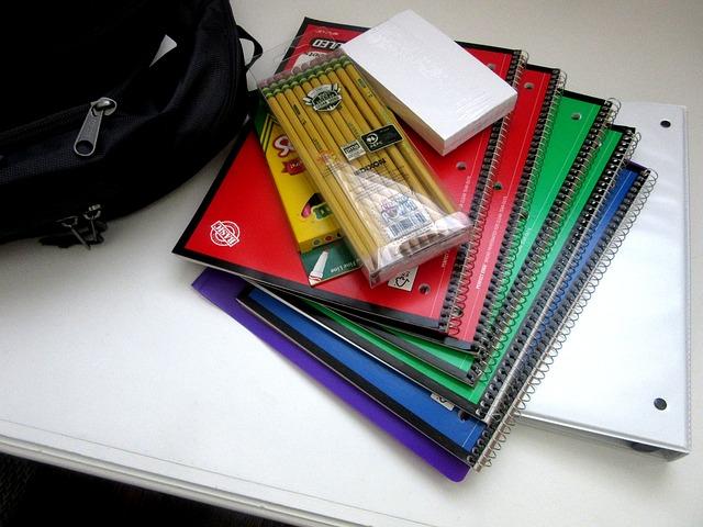 Batoh, tužky