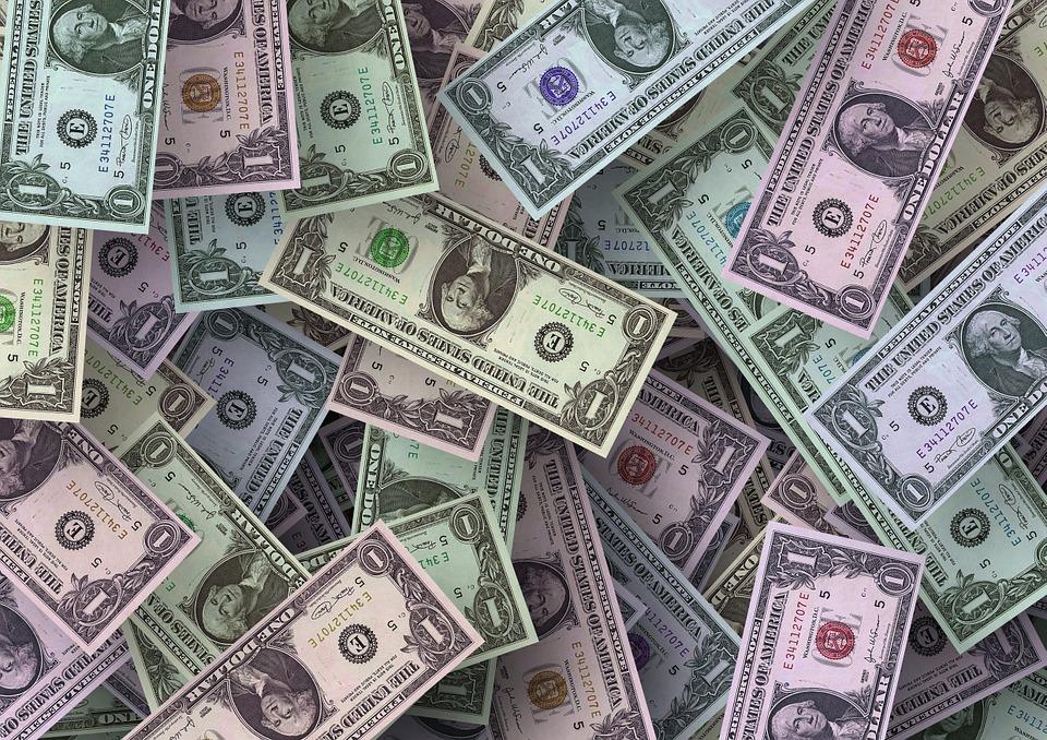mix dolarů